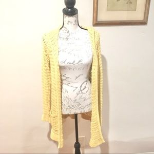Anthropologie Charlie & Robin Open Knit Sweater